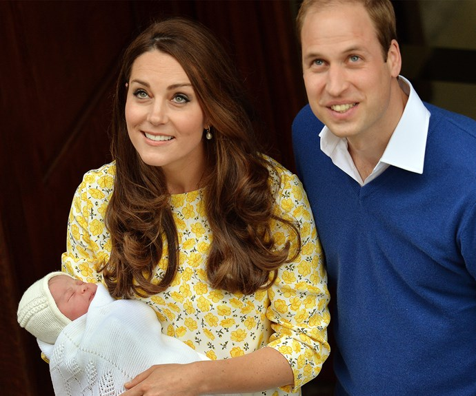 The royal couple welcomed their darling girl on May 2, 2015.