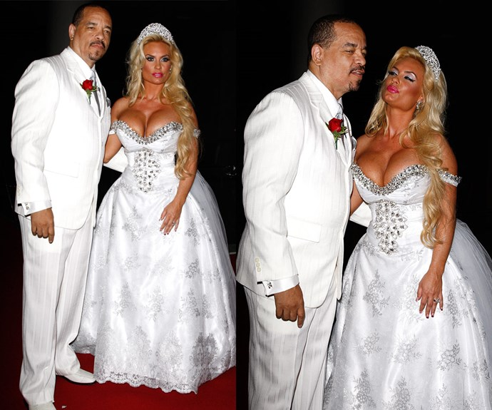 Coco Austin left little to the imagination when she renewed her vows with Ice-T in 2011.