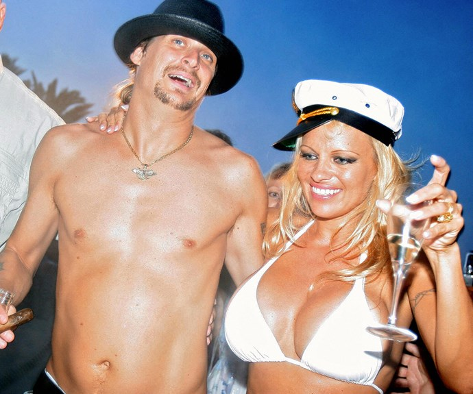 """When your wedding day looks like this, what could possibly go wrong? In 2006, [Pamela Anderson](http://www.nowtolove.com.au/beauty/makeup/shocking-plastic-surgery-transformations-20897