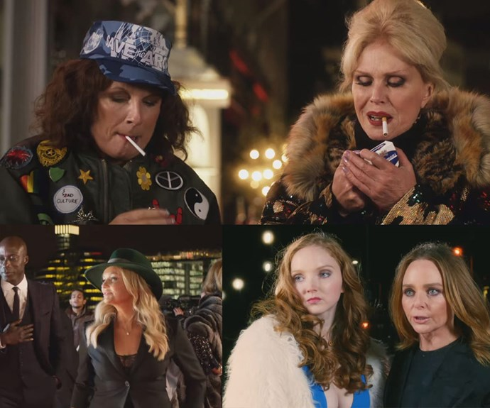 From Emma Bunton, Lily Cole and Stella McCartney - the film is overflowing with A-list cameos!