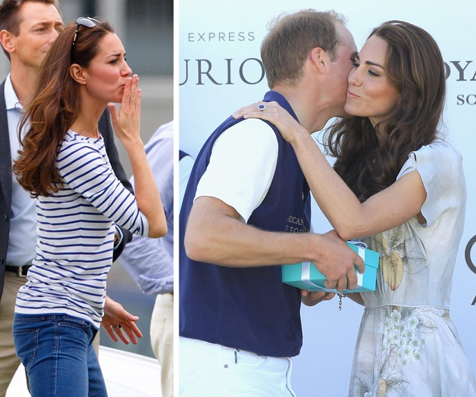 """""""It was very romantic. There's a true romantic in there,"""" Catherine quipped about her man."""