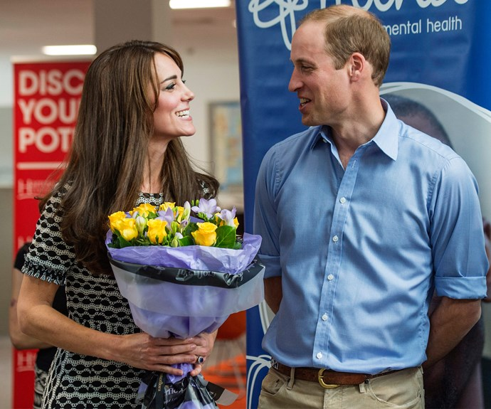 """She's got a really naughty sense of humour, which kind of helps me because I've got a really dry sense of humour,"" the Duke of Cambridge shared."