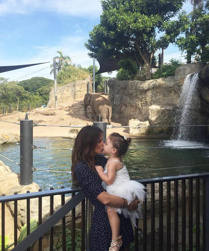 When she's not busy filming, the 31-year-old loves spending time with her darling daughter, Aleeia.
