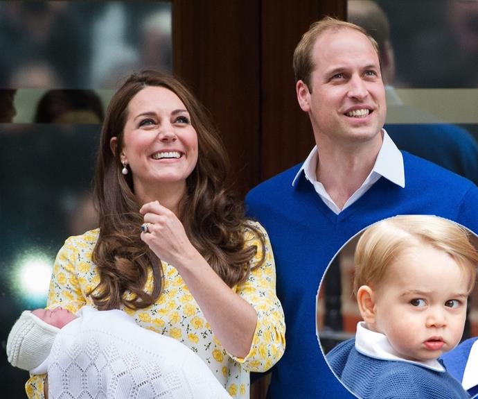 Prince George is officially a big brother!