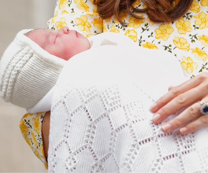 Introducing Princess Charlotte Elizabeth Diana...