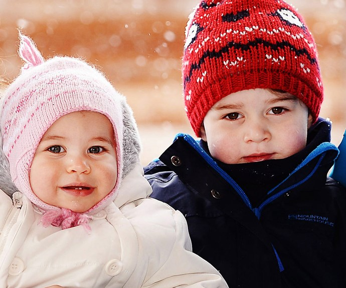 No doubt the adorable siblings will get up to all sorts of mischief on the Prince's birthday.