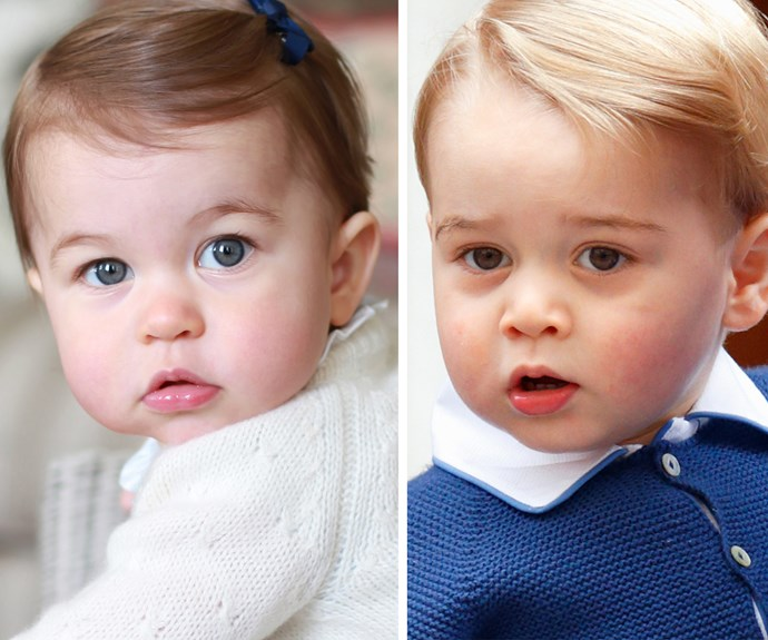 Cherub cheeks and the sweet almond eyes... these siblings sure have the cute factor in spades.