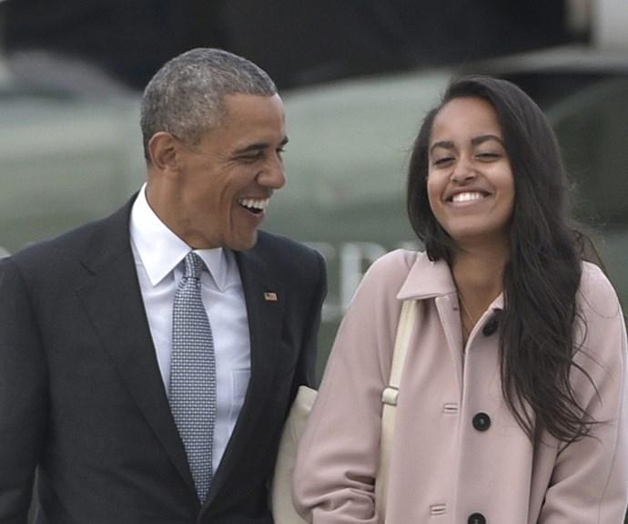 President Obama, Malia Obama