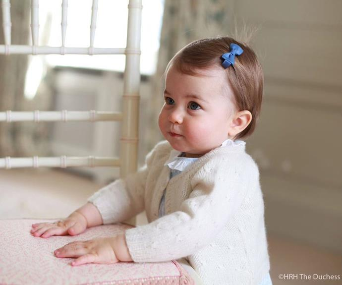 The cute snaps were taken in April at the family's Anmer Hall residence in Norfolk.