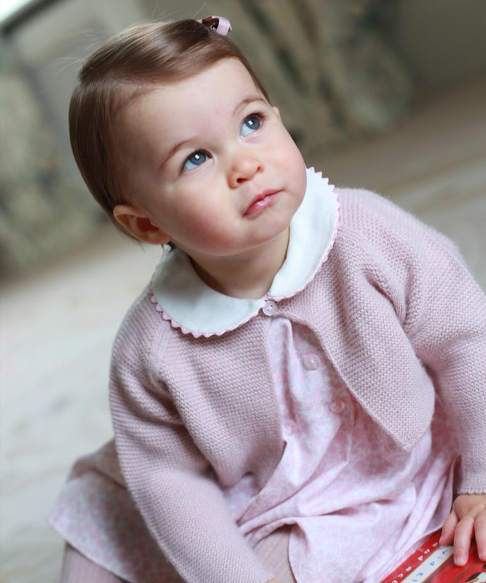 The sweet little royal takes after her stunning mum!