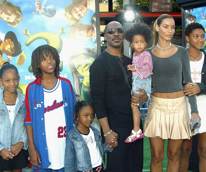 The Hollywood star, who will now have nine children, has five kids with his former wife of 12 years, Nicole Mitchell.