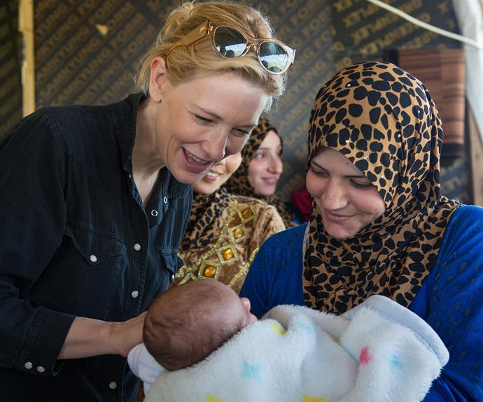 Hollywood actress Cate Blanchett has been appointed as the UN refugee agency's goodwill ambassador. The mum-of-two was moved by the stories she heard from the women in the Mazboud Community Centre, in Lebanon.