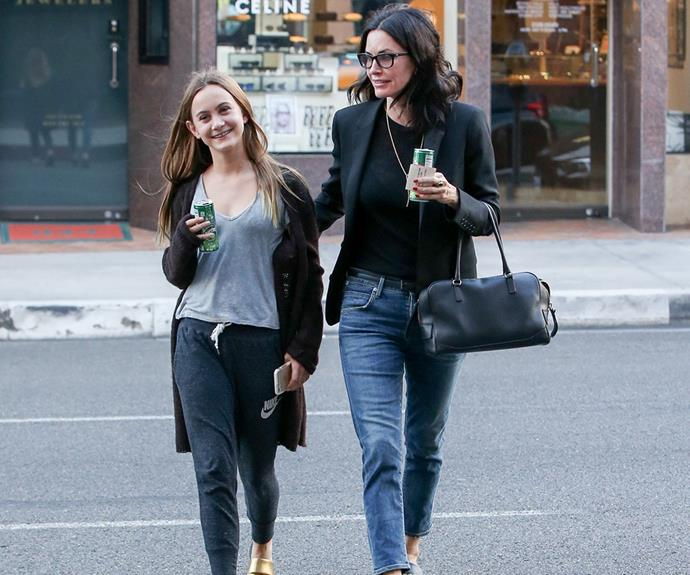 "The duo's outing comes as a new report from *Life & Style* claims Courteney's engagement to Snowpatrol rocker Johnny McDaid is back on after they called [off their wedding plans last December.](http://www.womansday.com.au/celebrity/hollywood-stars/courteney-cox-and-johnny-mcdaid-call-off-wedding-14238|target=""_blank"") **Gallery continues after the video!**"