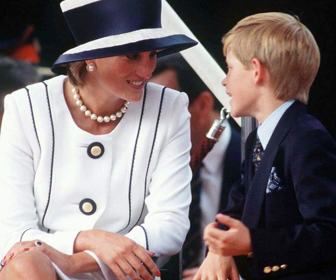 """Despite his treasured time with his mother, the young royal did admit he does not have """"that many memories"""" of Diana."""