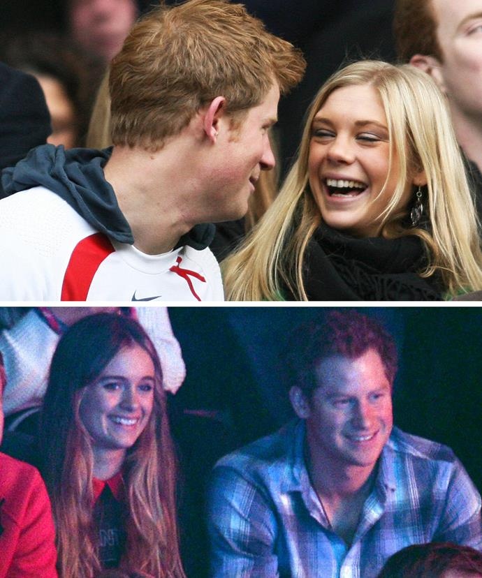 The royal has had several high-profile romances including his long-time love Chelsy Davy and Cressida Bonas.