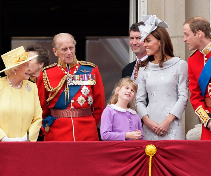 Discovering that only you family makes appearances on the Buckingham Palace balcony.