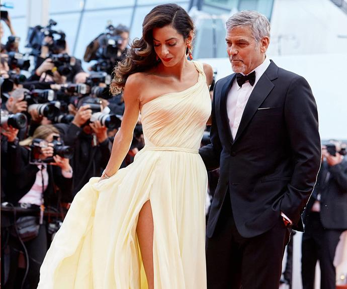 "George and Amal Clooney were the picture of love as they strutted before photographers. [Click here to see Amal's Cannes wardrobe malfunction!](http://www.womansday.com.au/celebrity/hollywood-stars/amal-clooney-narrowly-avoids-a-red-carpet-disaster-15372|target=""_blank"")"