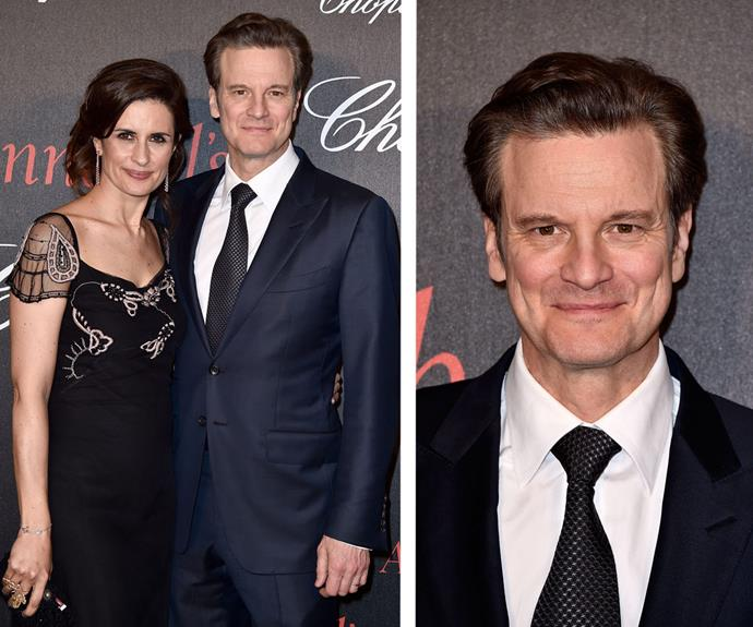 Colin Firth, handsome as always, was accompanied by wife Livia.