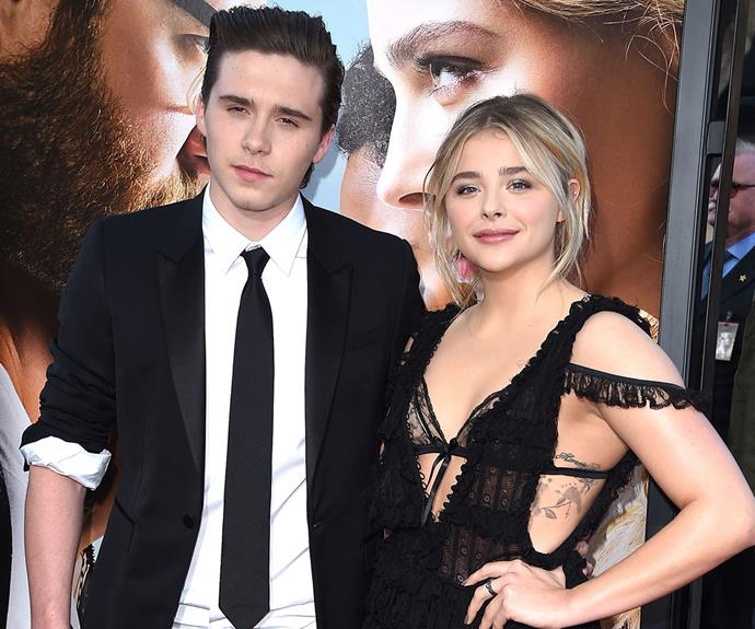 Making it red carpet official! Teen dream couple Brooklyn Beckham, 17, and Chloe Moretz, 19, have just walked their first official red carpet together.