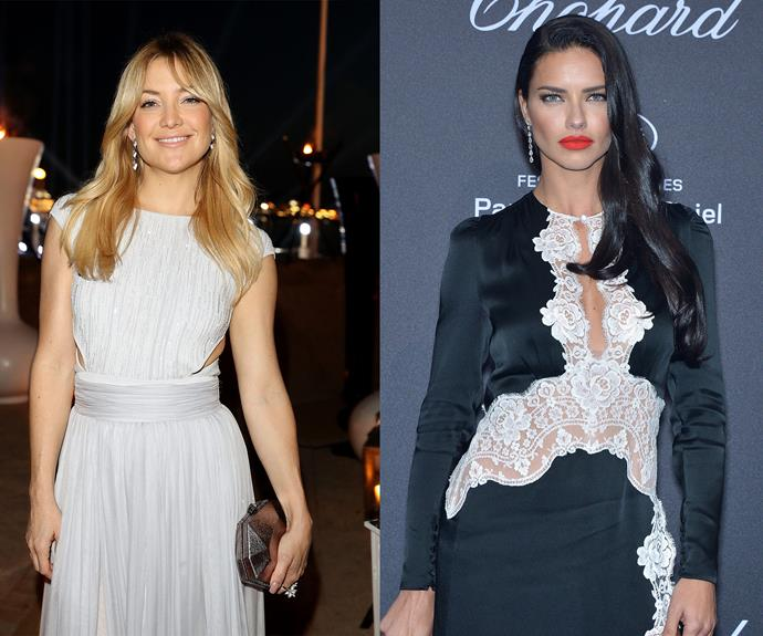 looking good Kate Hudson and Adriana Lima!