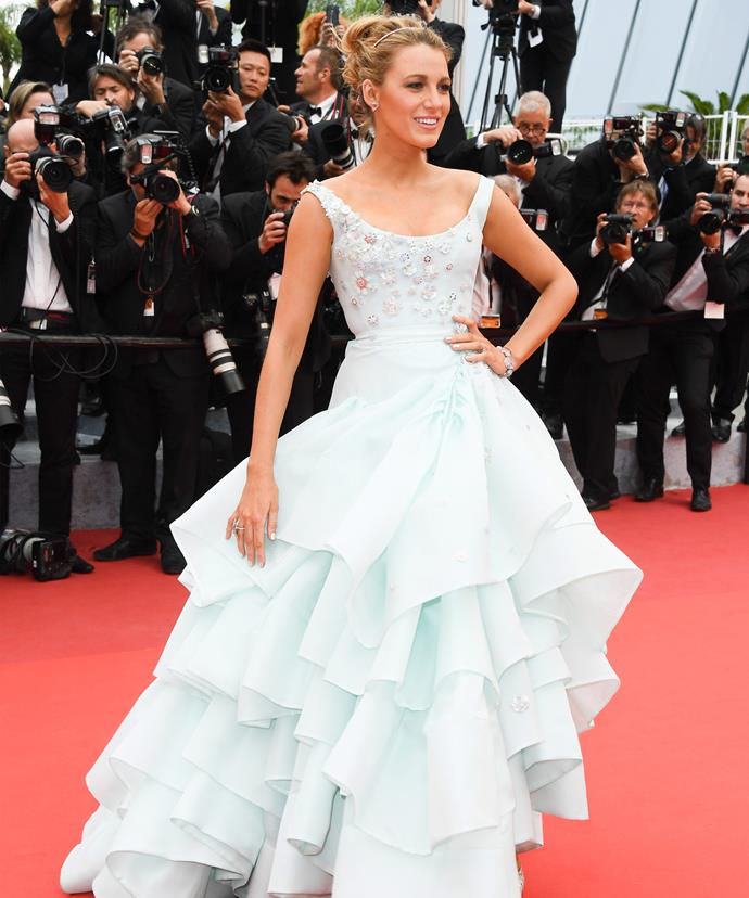 Until now, Blake has been the belle of the Cannes Film Festival ball for her stunning fashion choices.