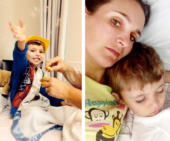Her six-year-old can often spend months at a time in hospital.