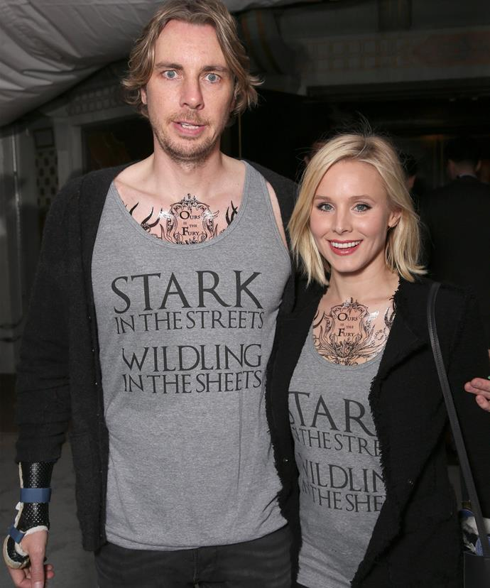 The couple that *Game of Thrones* together, stays together.