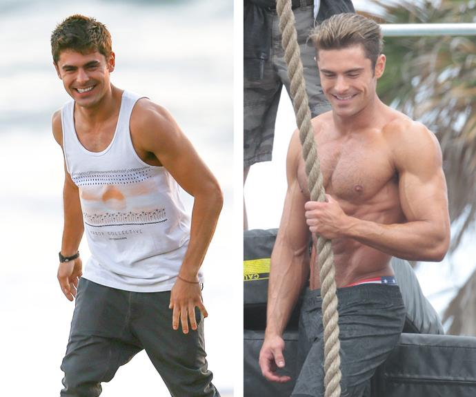 He's always been toned, but Zac Efron's current body is next-level.