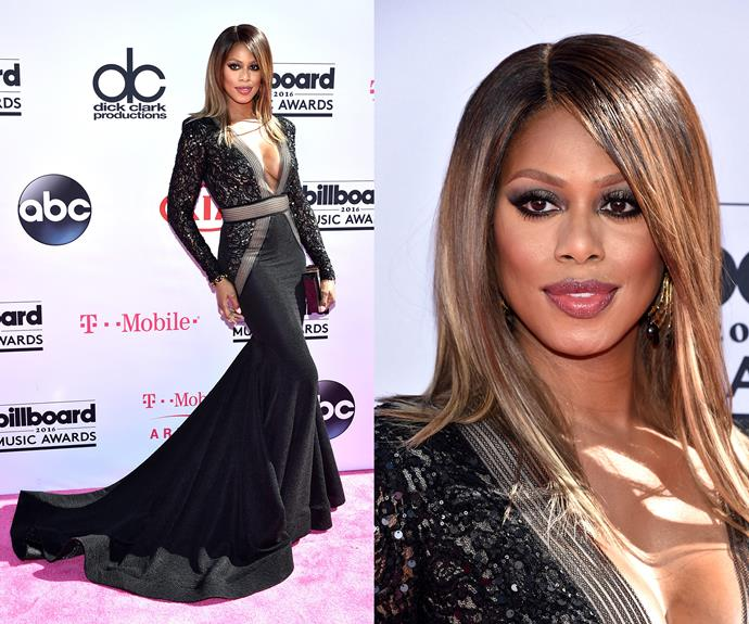 Laverne Cox channel major Hollywood glam!