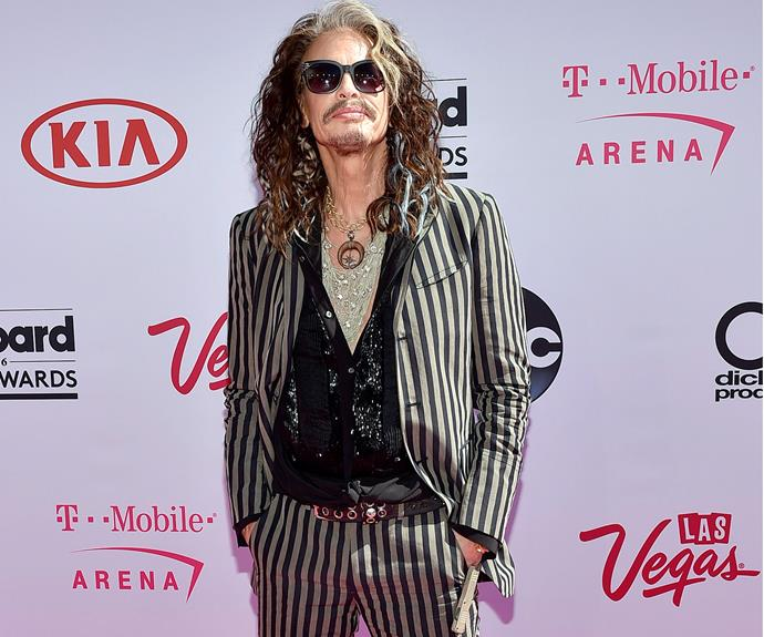 Steven Tyler proves to be a rock god.