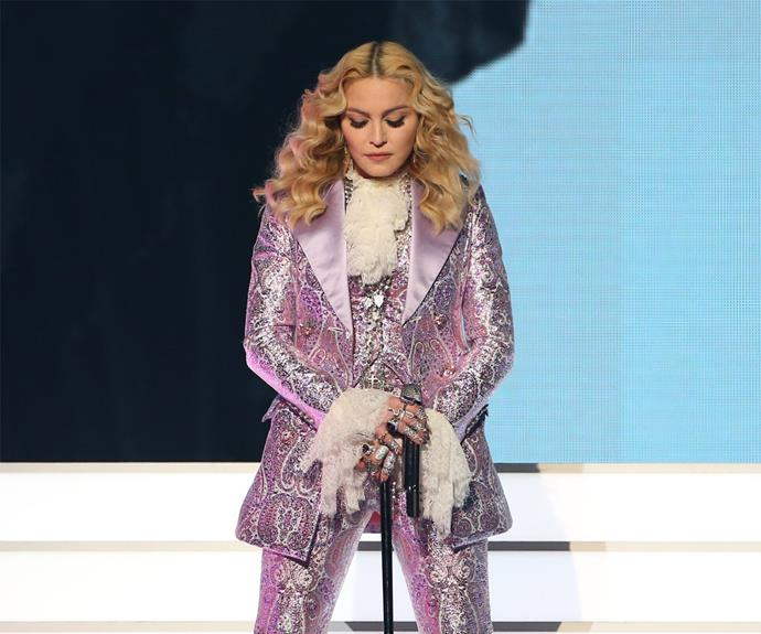 Fans were confused that Madonna chose to honour Prince with a song not sung by him.