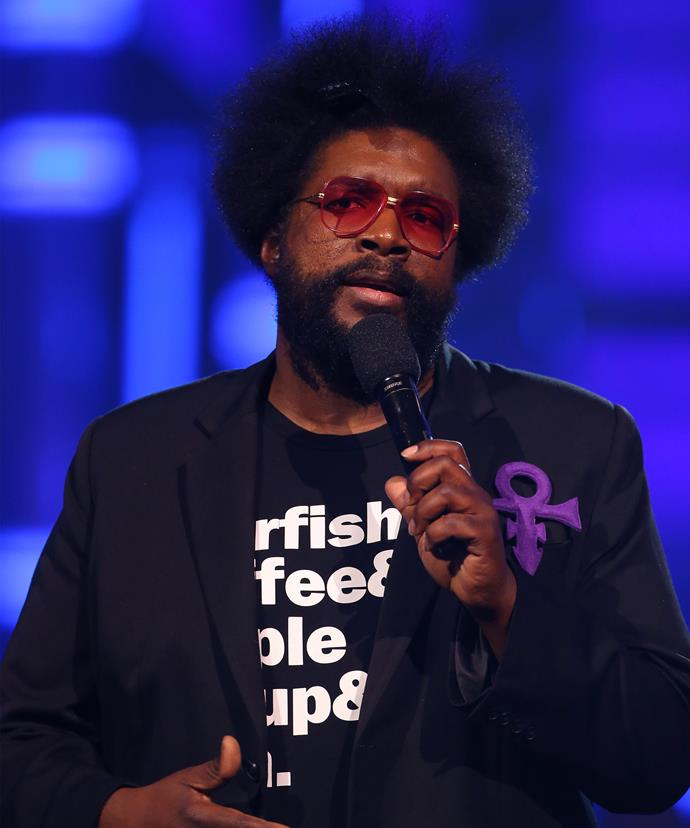 American DJ Questlove came to Madonna's defence.