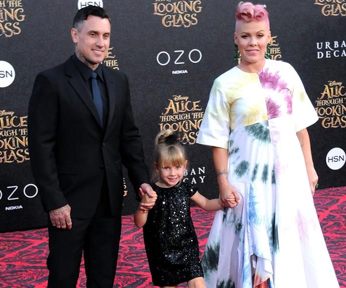 Carey Hart adores his wife Pink and daughter Willow Sage Hart.