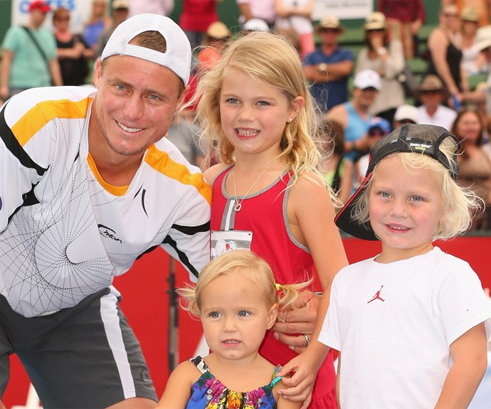 Lleyton and the kids will be very proud of their girl!