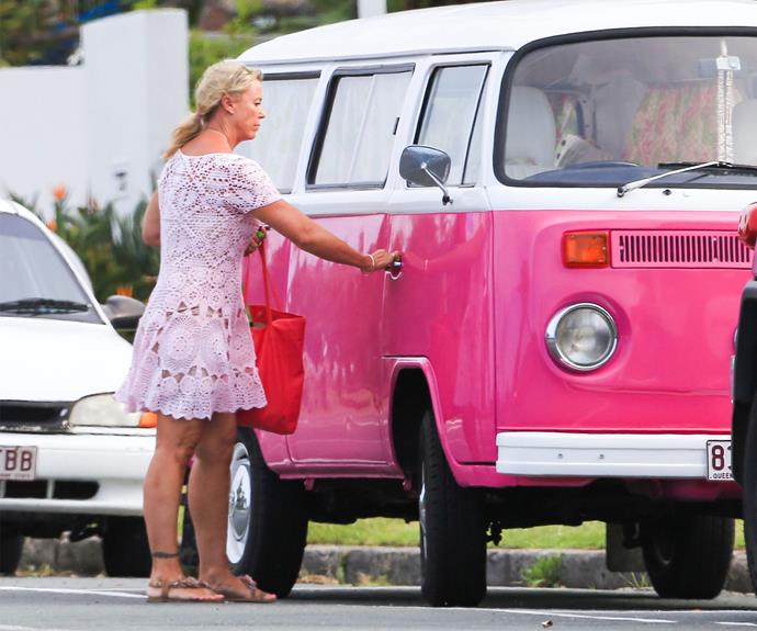 The pair bonded over their mutual love of kombi vans...