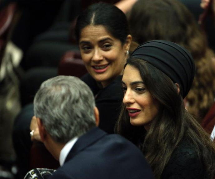 Salma Hayek and Richard Gere were also honoured at the event.