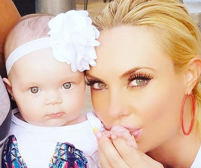 Coco Austin and her daughter Chanel Nicole share so many of the same features, especially their piercing green eyes!