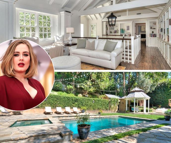 Adele has reportedly splashed a solid $US9.5 million ($A13.2 million) on  a mansion in Beverly Hills in a gated community near pal Jennifer Lawrence.