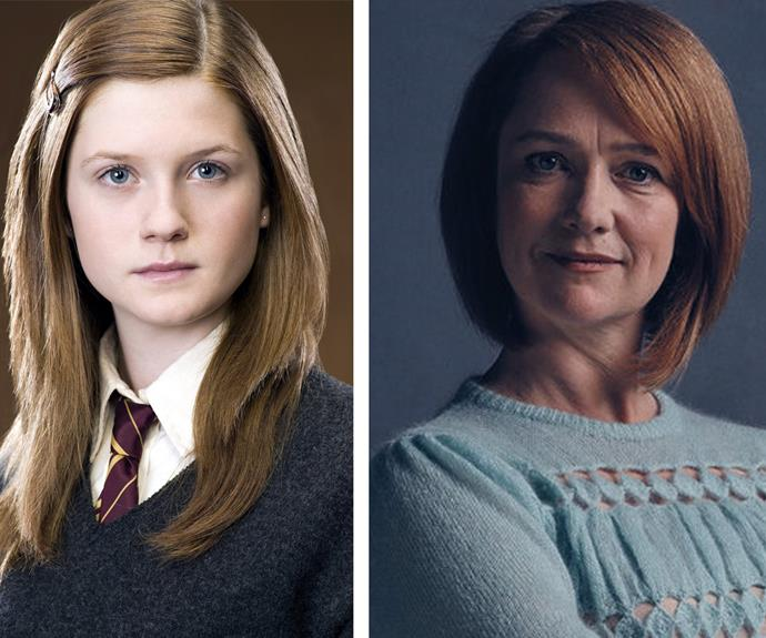 The Ginnys, Bonnie Wright and Poppy Miller, look so similar they could be related!