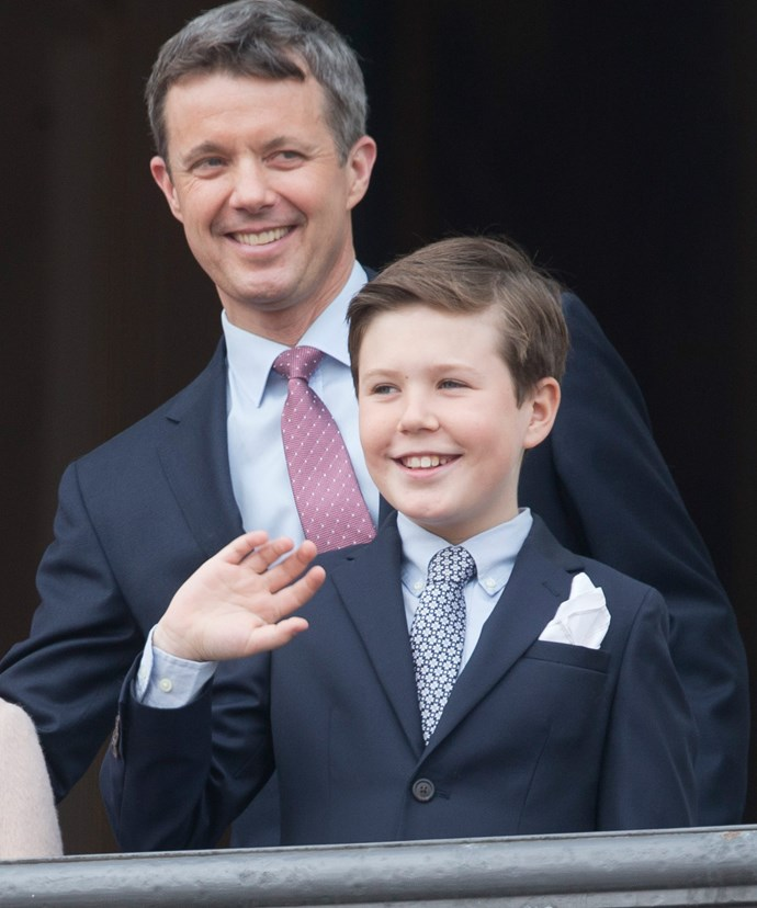 Prince Christian is directly in line to the throne, so he will still receive his royal wage.