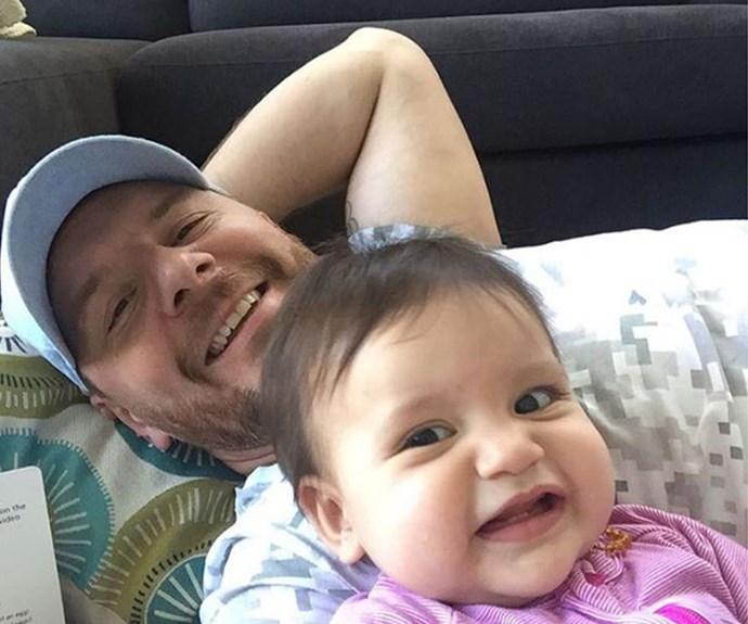 Manu and his darling daughter Charlee.