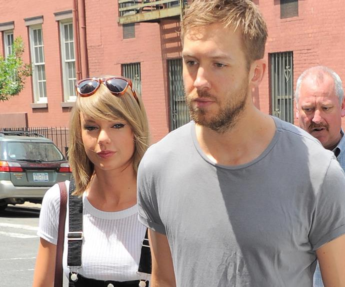 """The hitmaker had previously said he was """"insanely happy"""" dating Tay. """"It's going absolutely fantastic,"""" he said."""
