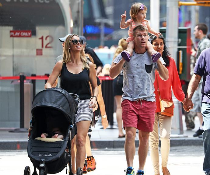 David and Candice Warner take on New York!