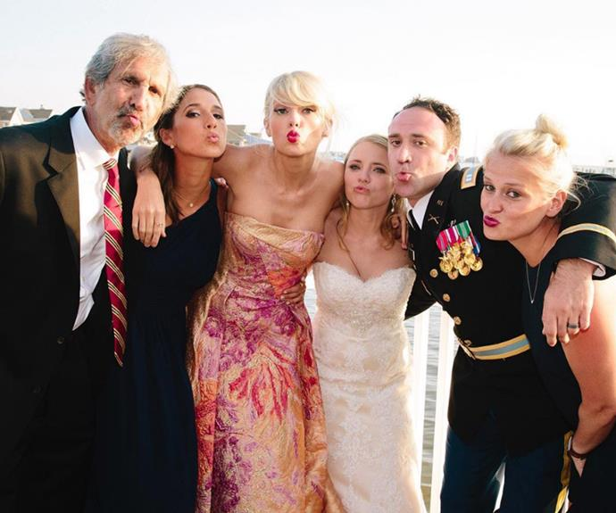 Taylor shared this sweet duck-faced pout pic!