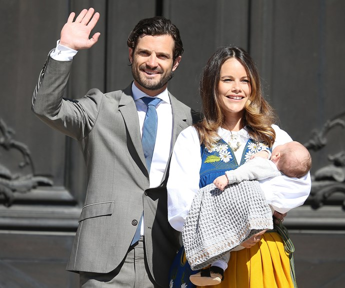 In June 2016, Prince Carl Philip, Princess Sofia and Prince Alexander made their first official outing as a family of three as they celebrated Sweden's National Day in Stockholm.