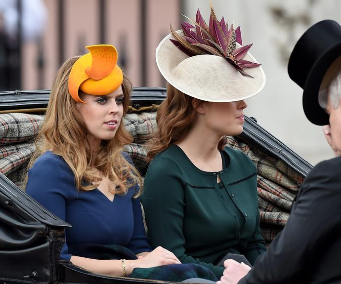Princesses Beatrice and Eugenie look picture perfect