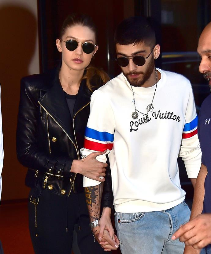 Gigi wanted to by by Zayn's side while he works through his issues.