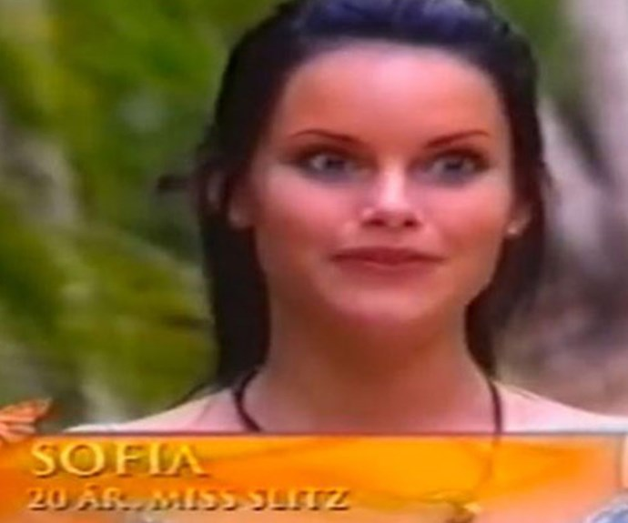 In 2005, Sofia appeared as a contestant on the dating reality show *Paradise Hotel*. The premise of the series sees a group of singles holed up in a luxury hotel seeing who can last the longest. **Watch Sofia on the show in the next slide. Gallery continues after the video!**