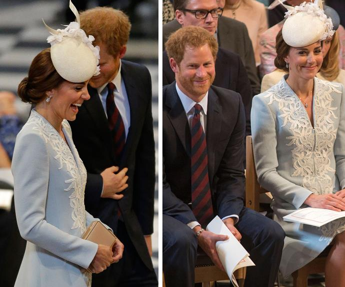 In fact the 33-year-old former military man can't help but make Kate giggle.