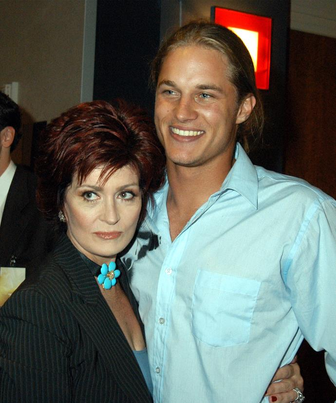 Sharon Osbourne may just have been Travis' biggest fan. The talk show host had the aspiring actor on her show in his peak modelling years.